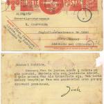 Kartka od Józka z 1941 roku