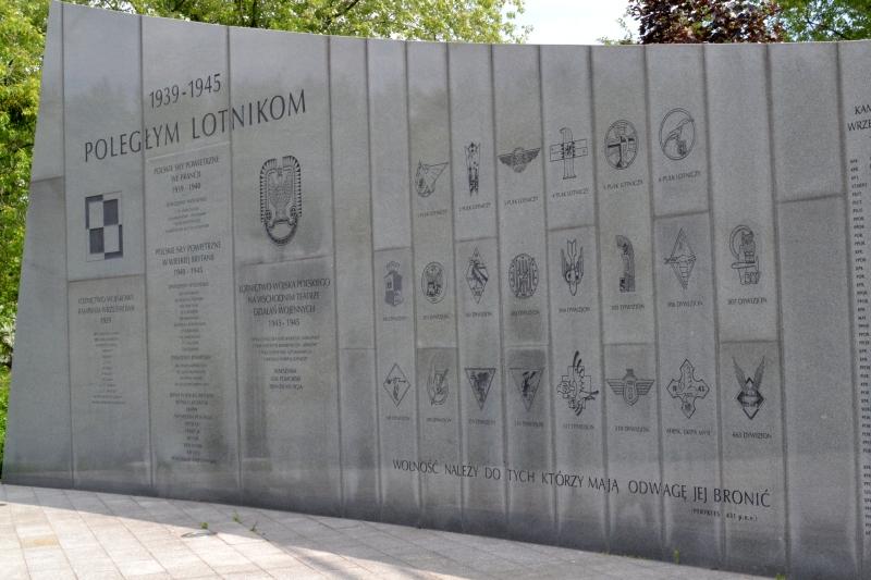 Lista formacji lotnictwa polskiego, biorących udział w Drugiej Wojny Światowej